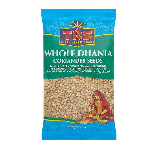 TRS Dhania (Coriander) Whole 100gm TRS