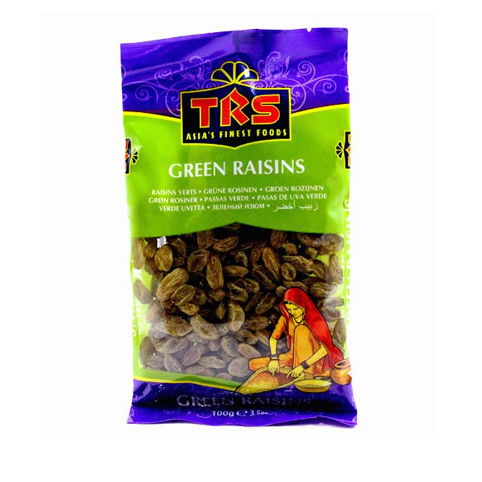 TRS Green Raisins 100gm