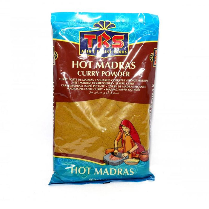 TRS Madras Curry Powder Hot 400gm