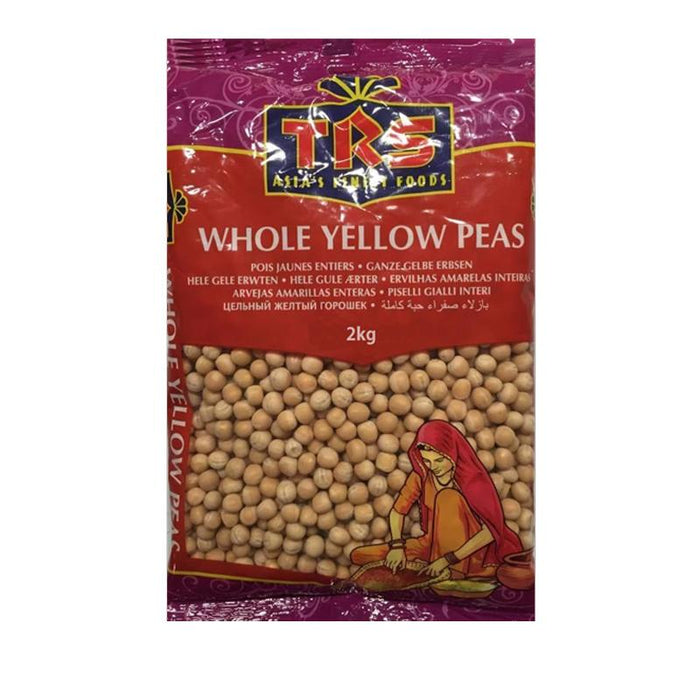 TRS Whole Yellow Peas 2kg
