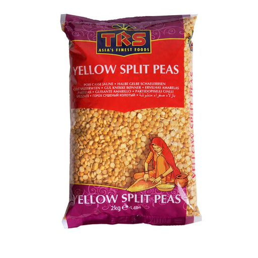 TRS Yellow Split Peas 2Kg TRS