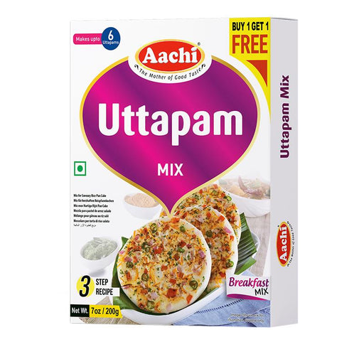 Aachi Uttappam Mix (B1G1 Offer) 200gm