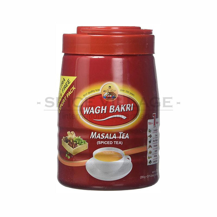 Wagh Bakri Masala Tea Jar 250gm