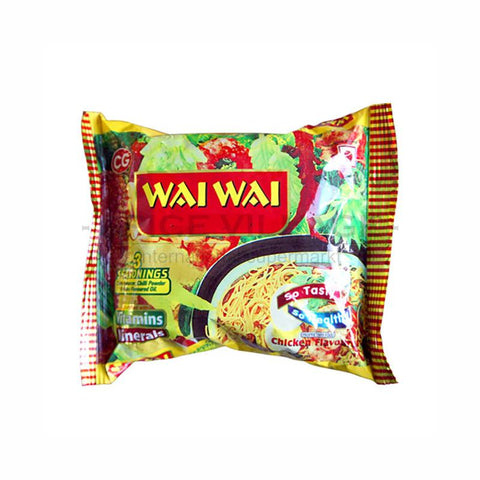 Wai Wai Chicken Instant Noodle 75gm