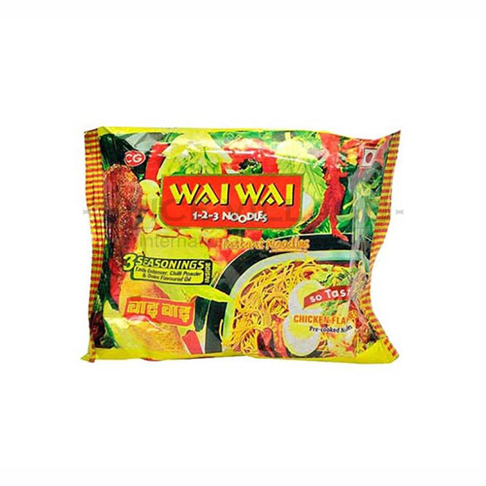Wai Wai Chicken Pizza Instant Noodle 75gm