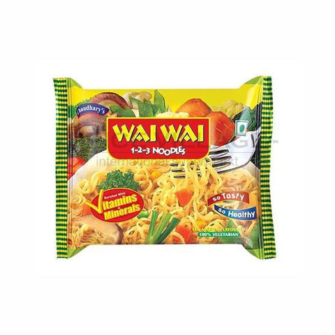 Wai Wai Vegetable Instant Noodle 75gm