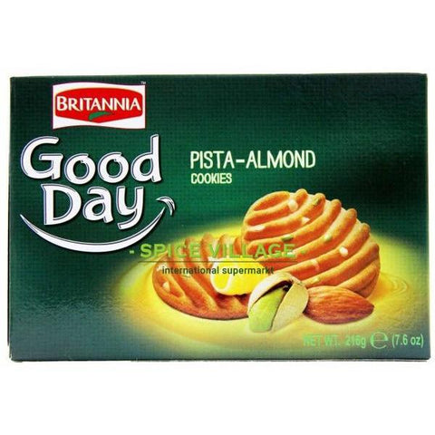 Britannia Good Day Pista - Almond 216G