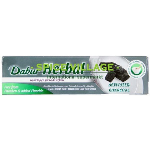 Dabur Herbal Toothpaste Activated Charcoal