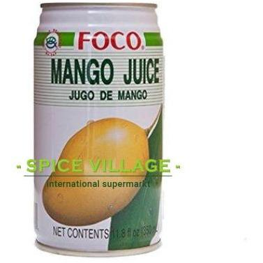 Foco Mango Juice 350ml spicevillage.eu