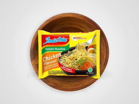 Indomie Chicken Instant Noodlesoup with chilli powder 70g