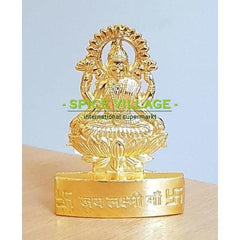 Laxmiji Statue (Small) - Gold Plated