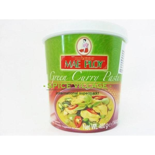 Mae Ploy Thai Curry Green 400G