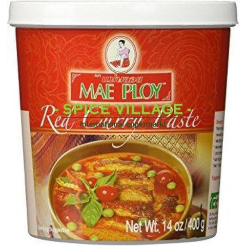 Mae Ploy Thai Curry Red 400G