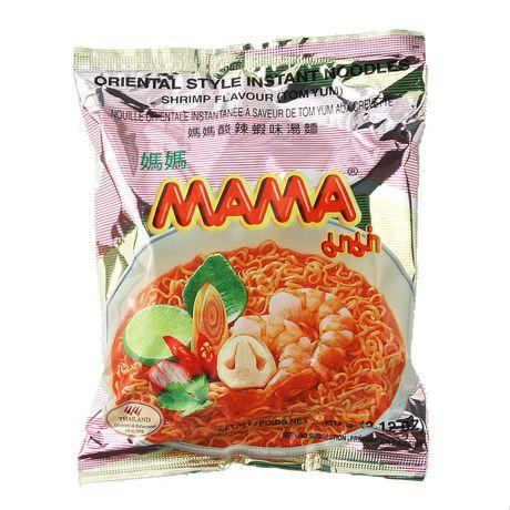 Mama Shrimp Instant Noodles 60gm