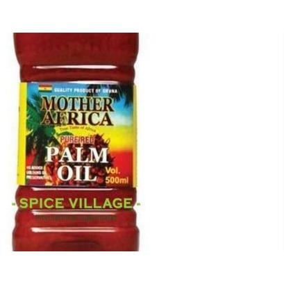 Mother Africa Palm Oil (Pure Red) 500ml spicevillage.eu