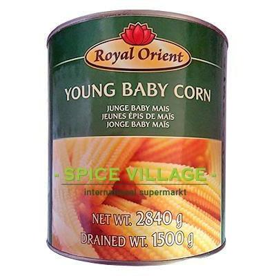 Royal Orient Young Baby Corn 2.8 Kg