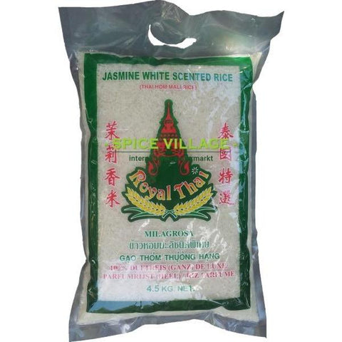 Royal Thai Fragrant Rice 4.5 Kg