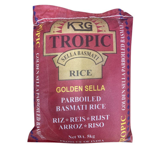 Tropic Golden Sella (Parboiled) Basmati Rice 5kg