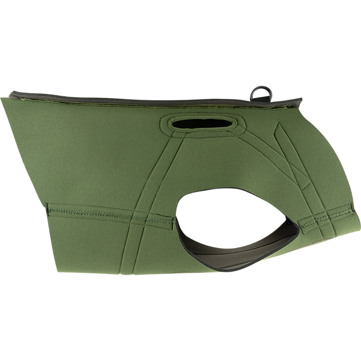 Gen 2 Technical Neoprene Dog Vest Green