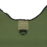 5mm Neoprene Dog Vest Green