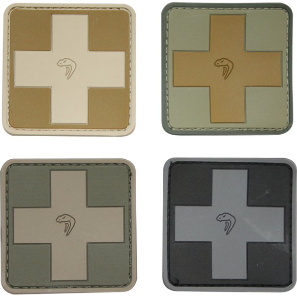 Medic Rubber Patches
