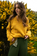 Hand Loomed (Yellow) Roll Neck Sweater