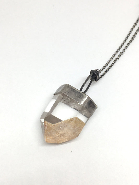 Inclusion Quartz Crystal Necklace