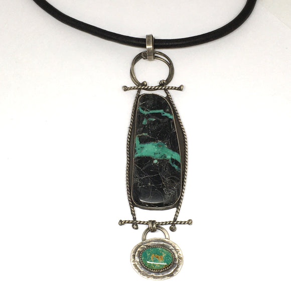 Talisman Necklace Turquoise