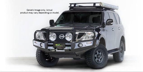 Premium Deluxe Bull Bar - 60.3mm Loop Bar & Fog Lights - $2199
