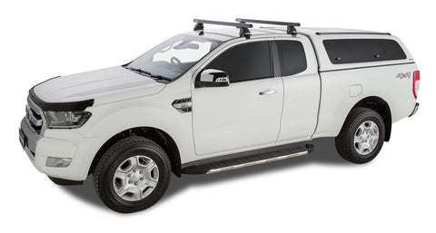 Heavy Duty 2500 Black 2 Bar Roof Rack - 1375mm