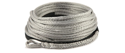 Synthetic Winch Rope - 9.5mm x 27m, 8100Kgs