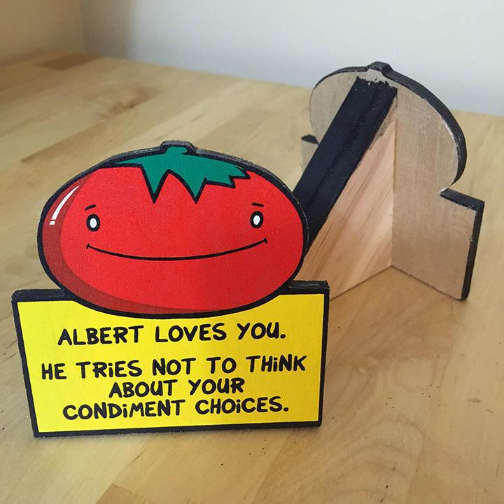 Albert the Tomato- Desktop Ally-Desktop Ally-Red Rocket Farm