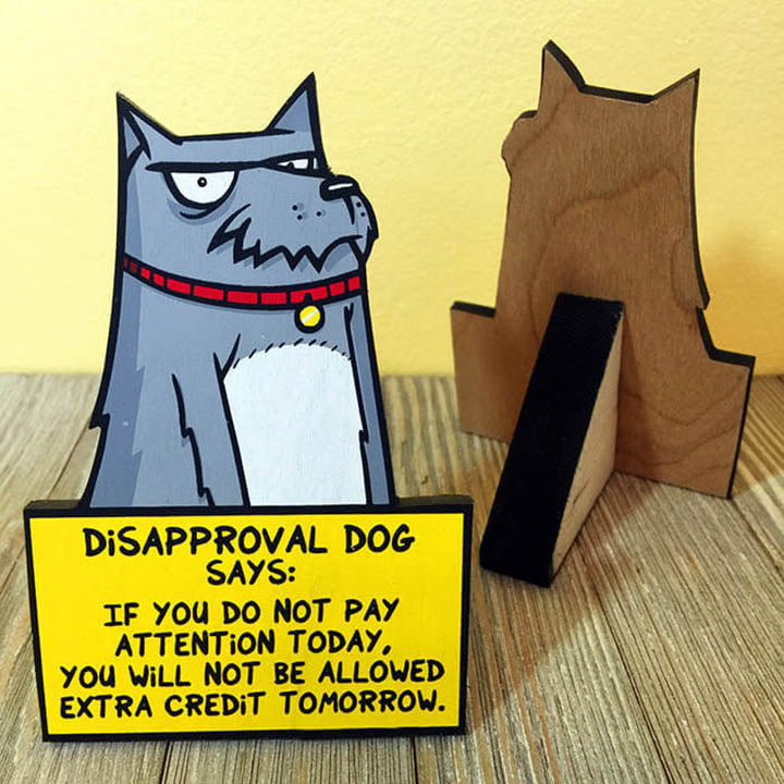 Disapproval Dog - Desktop Ally-Desktop Ally-Red Rocket Farm