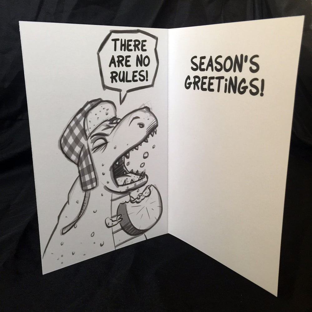 Dinosaur Holiday Card