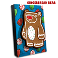 Treat Bear Gingerbread - Wall Art Painting -