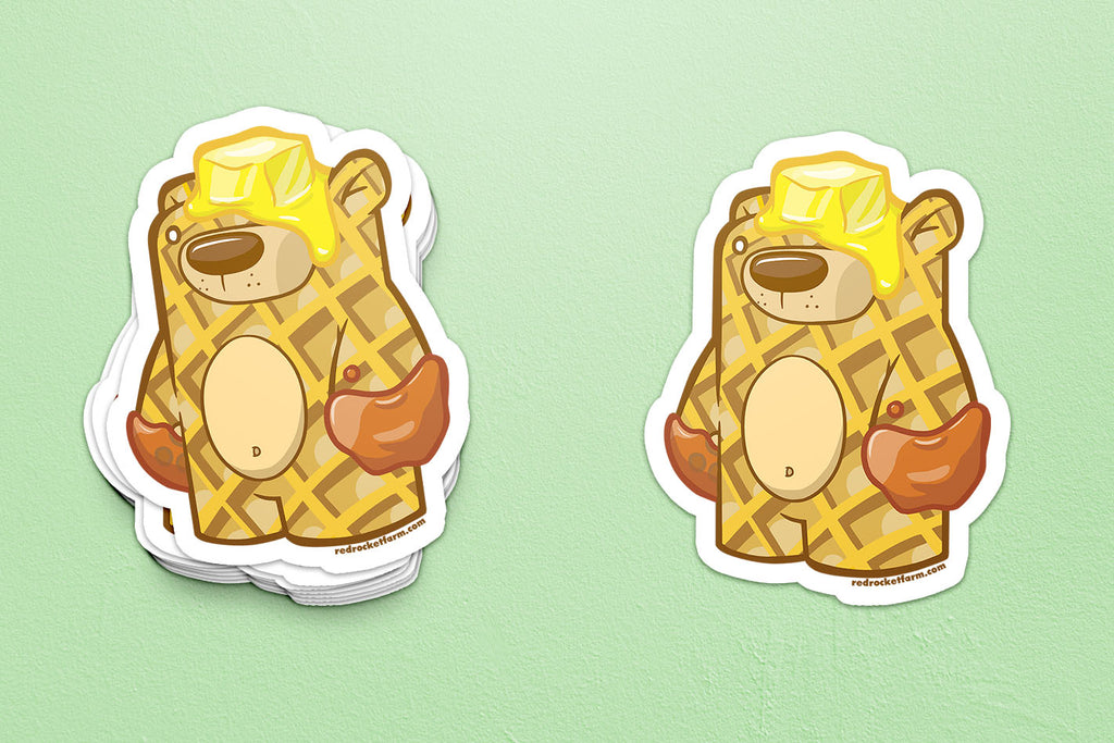 Treat Bear - Griddles Sticker