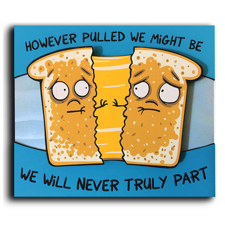 Grilled Cheese Sadwich - Wall Art-Wall Art-Red Rocket Farm