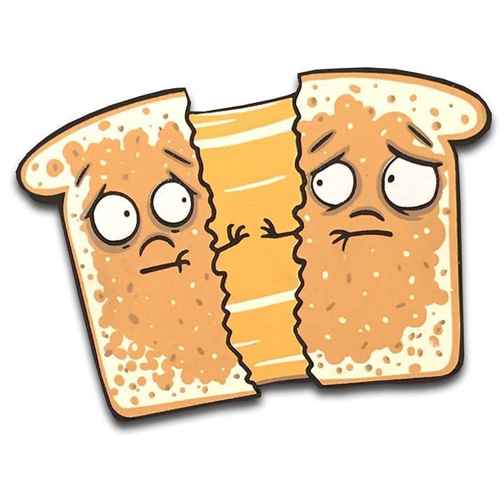 Grilled Cheese Sadwich Magnet-Magnet-Red Rocket Farm