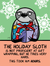 The Holiday Sloth Holiday Card