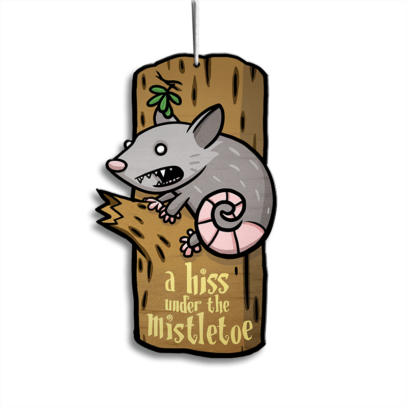 Alice the Holiday Opossum Ornament