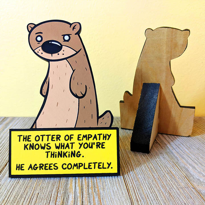 Otter of Empathy - Desktop Ally-Desktop Ally-Red Rocket Farm