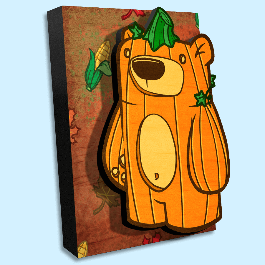 Treat Bear Harvest - Wall Art Painting