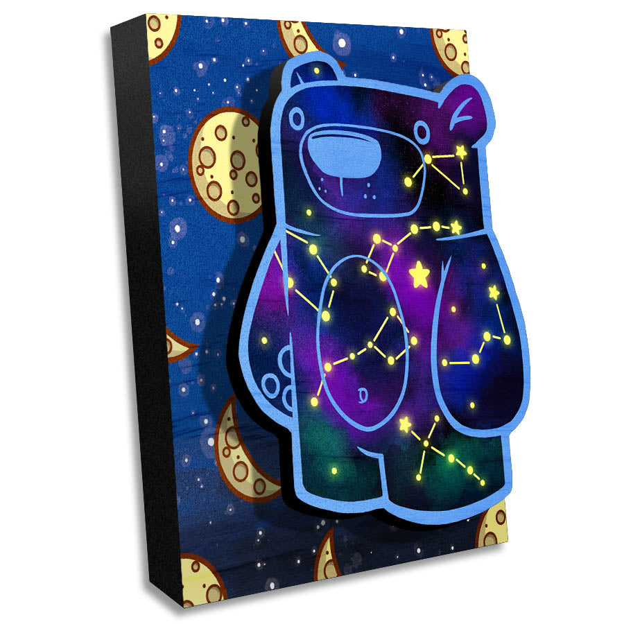 Treat Bear Celestial - Wall Art Painting