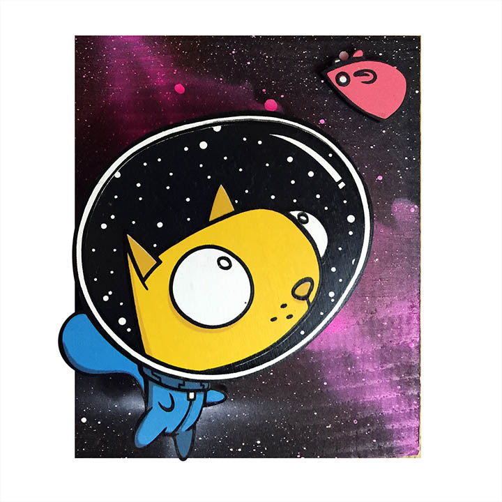 Space Cat - Wall Art