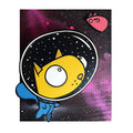 Space Cat - Wall Art-Wall Art-Red Rocket Farm