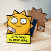 Hopeful Sunshine - Desktop Ally Desk Decor