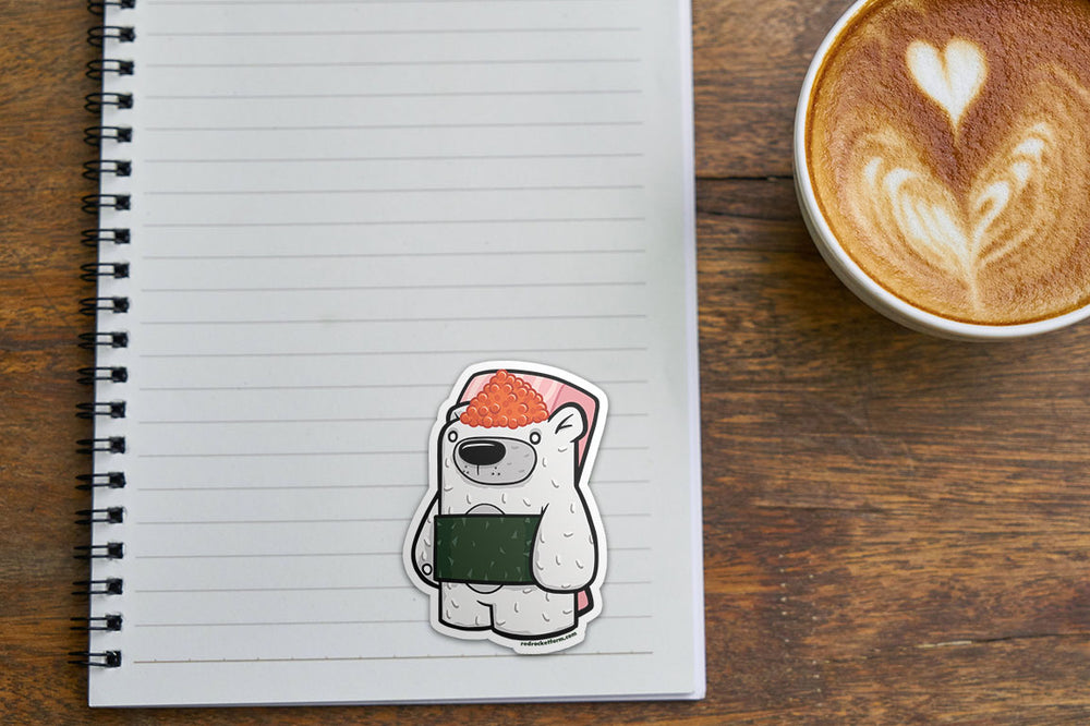 Treat Bear - Sushi Sticker