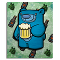 Treat Bear Brew- Wall Art Painting