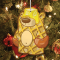 Treat Bear Griddles Ornament