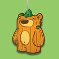Treat Bear Harvest Ornament